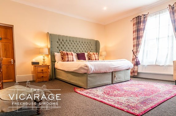 The Vicarage stay, Cheshire