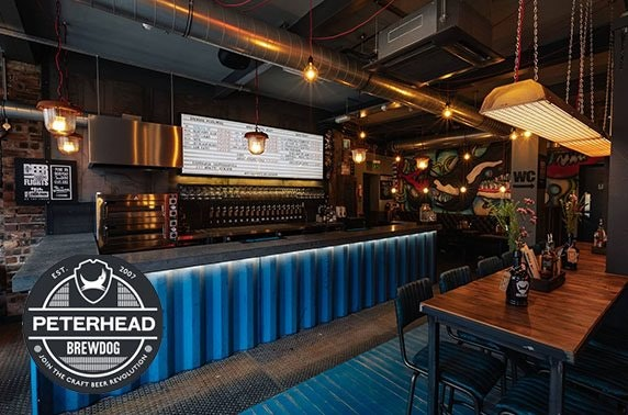 Brand-new BrewDog Peterhead
