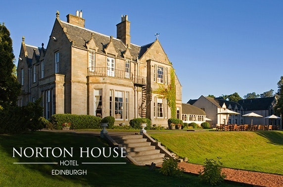 4* Norton House Hotel & Spa stay
