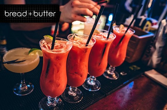 Bread + Butter – from £2.50 per cocktail!