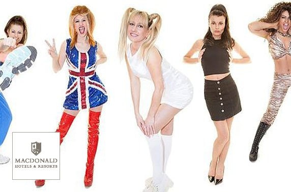 4* Macdonald Inchyra Spice Girls tribute