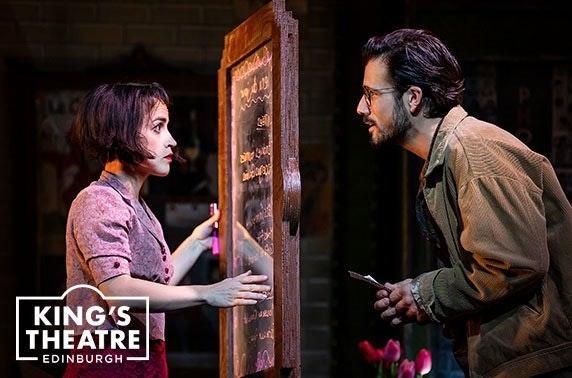 Amélie the Musical at King's Theatre Edinburgh