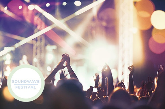 Soundwave Festival at Rozelle Park, Ayr