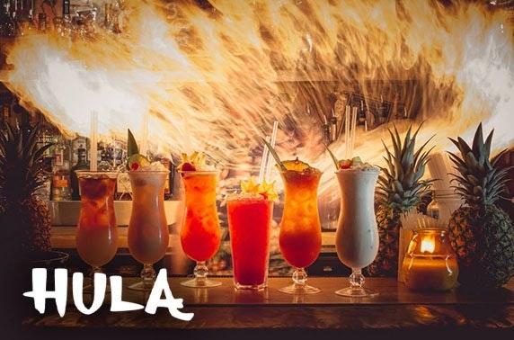 Hula cocktails, Northern Quarter