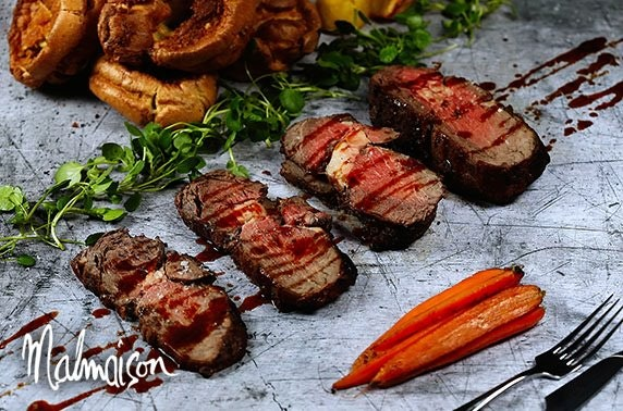 4* Malmaison Sunday lunch