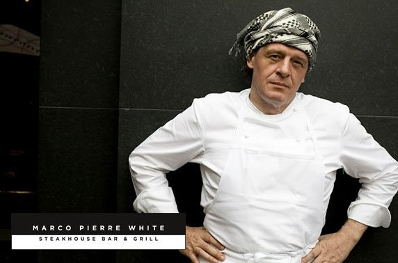 Marco Pierre White dining