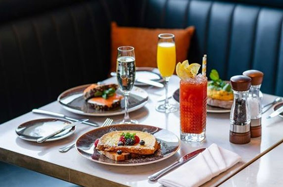 Manchester City Centre stay with bottomless brunch