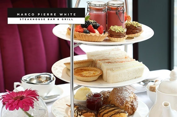 Marco Pierre White fizz afternoon tea