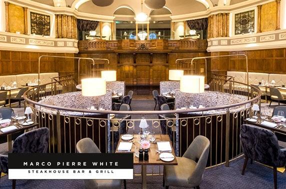 Marco Pierre White lunch, 4* Hotel Indigo Durham
