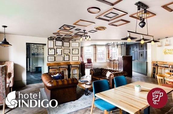 Hot drinks & cakes at recently-opened Hotel Indigo Durham