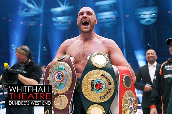 An evening with Tyson Fury at Whitehall Theatre
