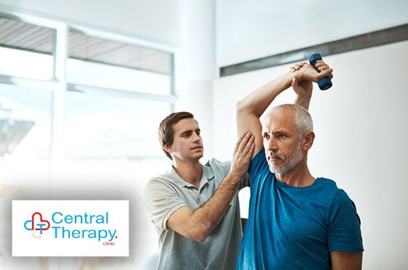 Central Therapy sports massage or physiotherapy