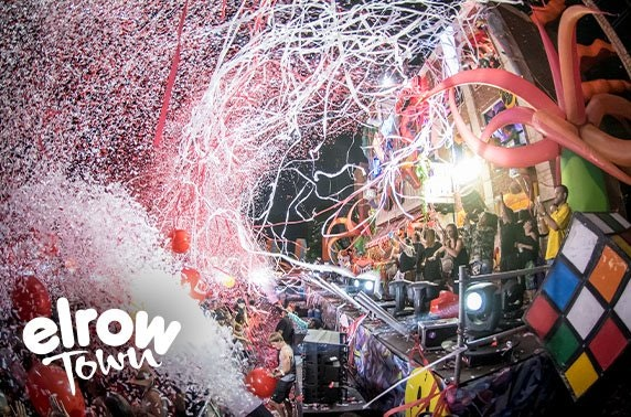 Elrow's first ever dance festival in Scotland!