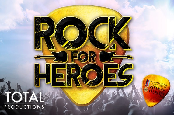 Rock for Heroes at Albert Halls, Bolton