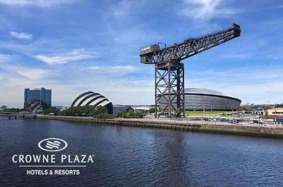 4* Crowne Plaza Glasgow City Centre stay