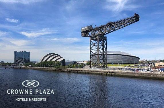 4* Crowne Plaza Glasgow City Centre stay