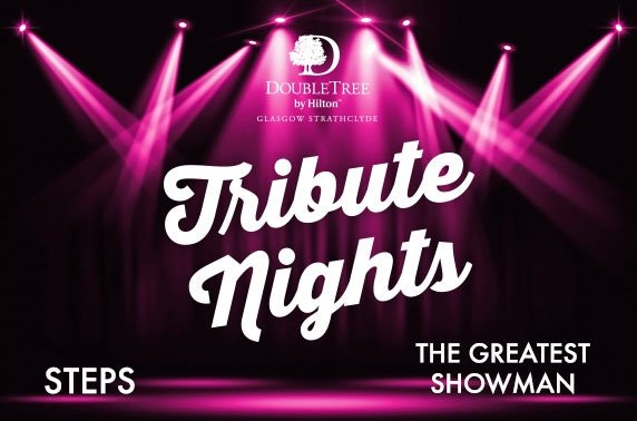 4* DoubleTree by Hilton Strathclyde tribute & comedy nights