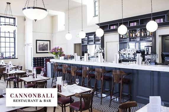 Afternoon tea at award-winning Cannonball, Castlehill
