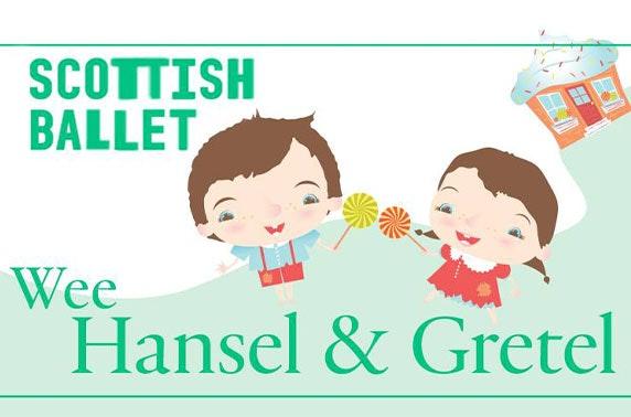 Wee Hansel & Gretel by Scottish Ballet, Theatre Royal, Glasgow
