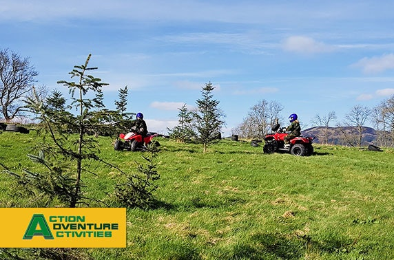 Quad biking experience, Stirlingshire