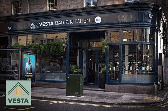 Gins & sharing boards at Vesta