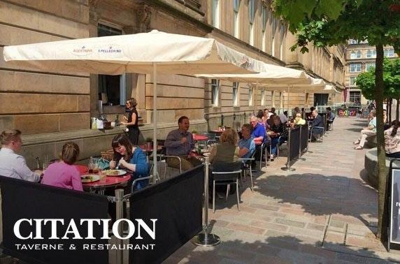 Citation antipasti & drinks