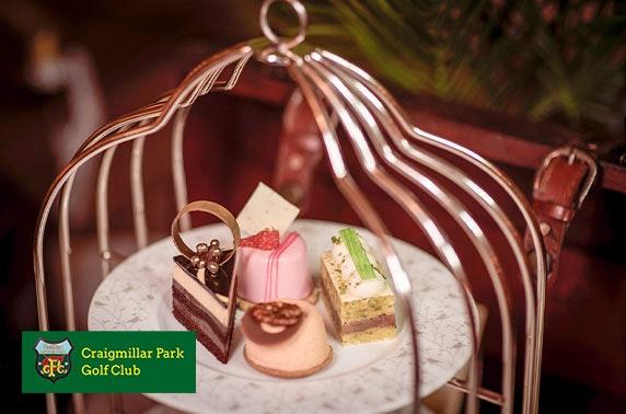 Craigmillar Park Golf Club lunch or afternoon tea