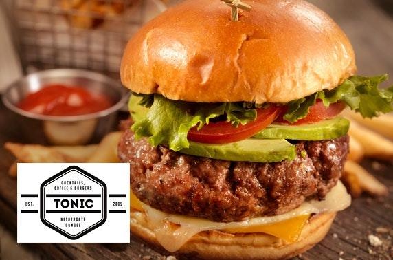 Tonic burgers & cocktails