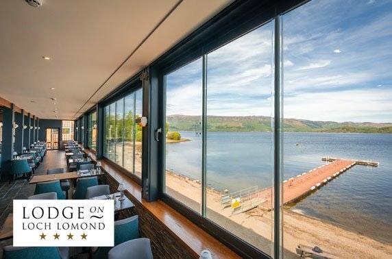 4* Loch Lomond lunch & leisure