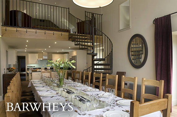 5* Barwheys luxury group getaway in the Ayrshire countryside