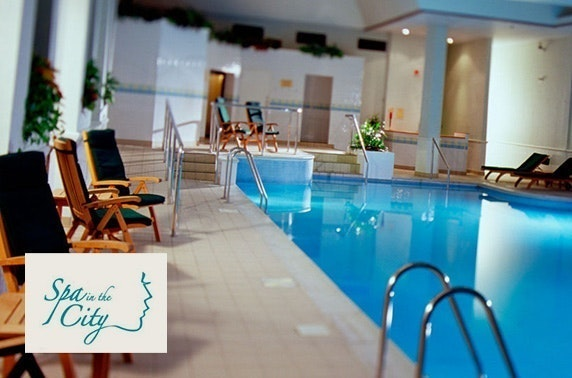 Spa in the City treatments, 4* Marriott Hotel