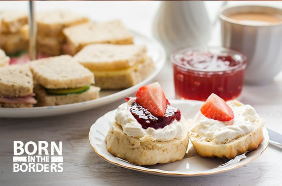Born in the Borders Waverley Mall cream or afternoon tea