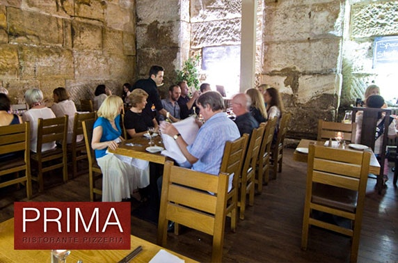 Prima pizza or pasta, Quayside - £6pp