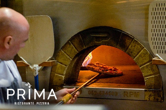 Prima dining - from £5pp