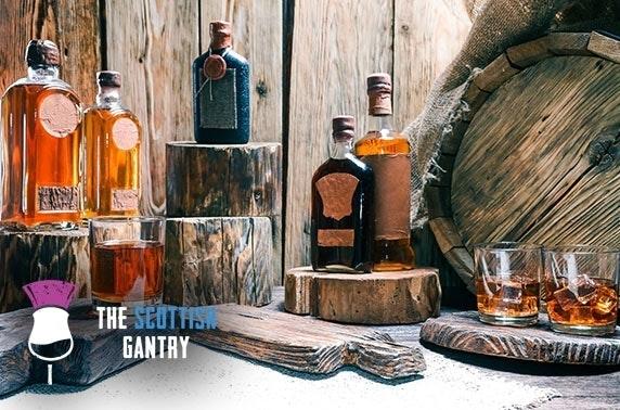 The Scottish Gantry rum tasting at the Edinburgh Fringe