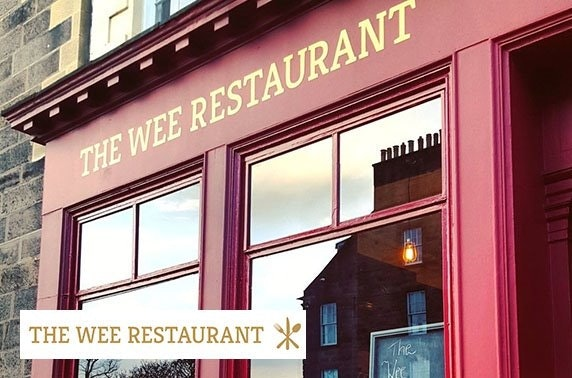 Michelin recommended The Wee Restaurant dining