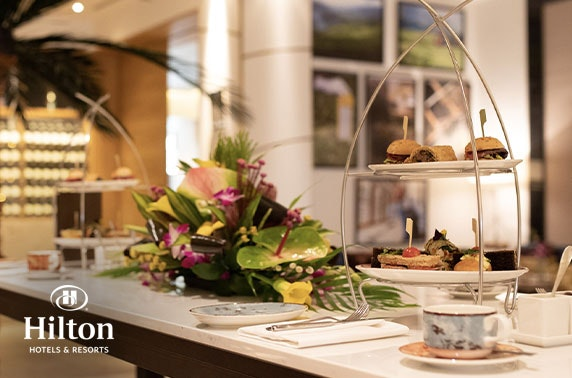 Afternoon tea with leisure access, 4* Hilton Glasgow