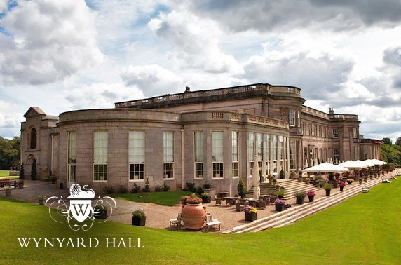 4* Wynyard Hall hot tub cottage stay - £49pp
