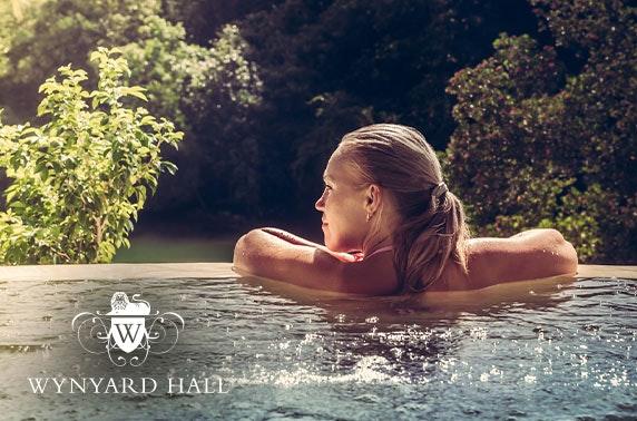 4* Wynyard Hall hot tub cottage stay - £49pp