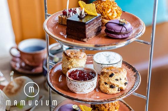 Mamucium afternoon tea & cocktails, Hotel Indigo