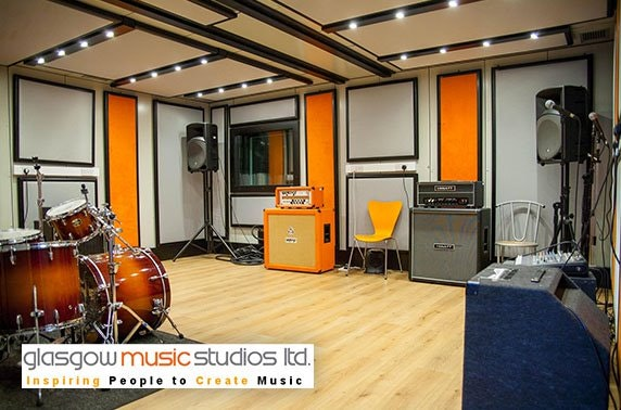 Glasgow Music Studios recording package