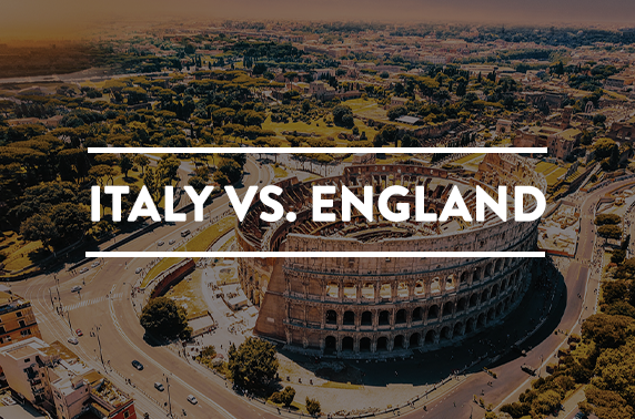 England vs Italy rugby & Rome stay