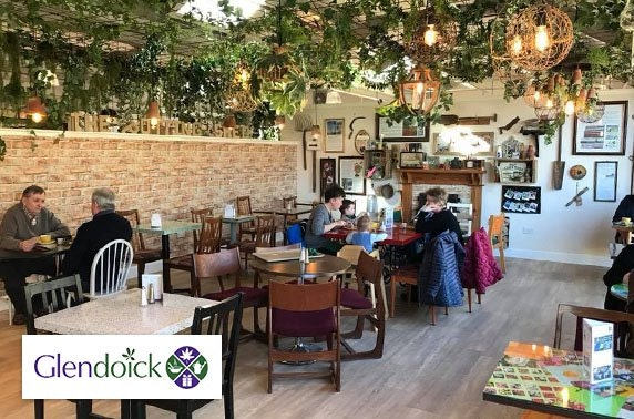 Glendoick Garden Centre Café breakfast
