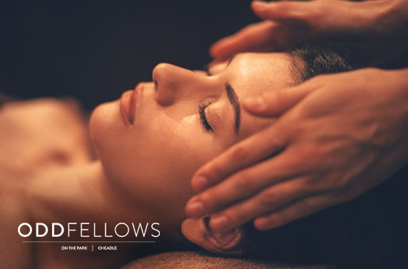 Oddfellows On the Park massage & Champagne