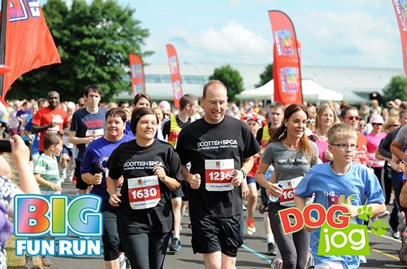 5k Big Fun Run or Dog Jog, Holyrood Park