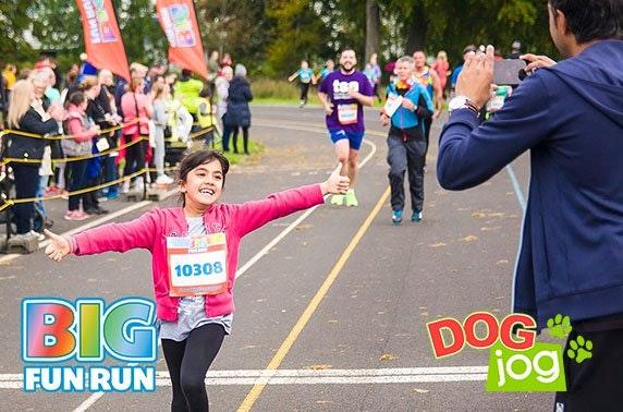 5k Big Fun Run or Dog Jog, Bellahouston Park