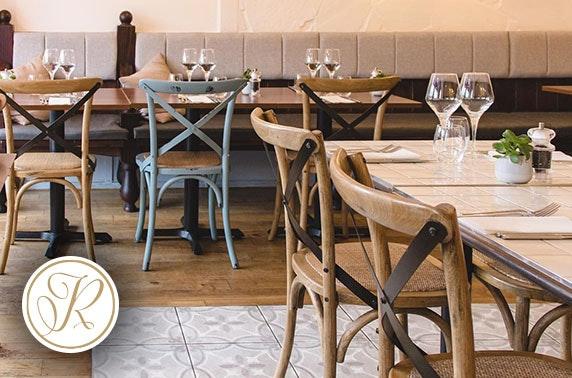Rossini Italian afternoon tea, West End