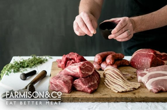 Award-winning Farmison & Co meat subscription box
