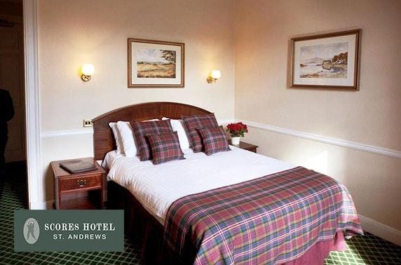 Scores Hotel, St Andrews getaway