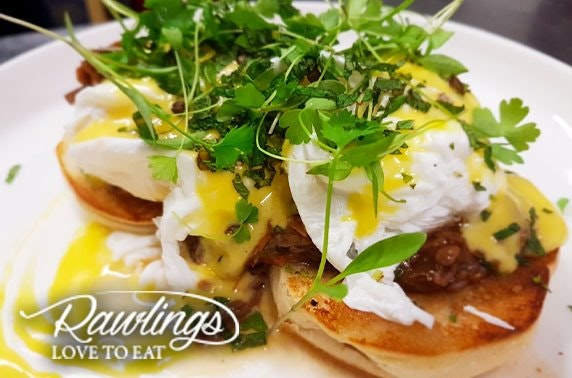 Award-winning Rawlings brunch or dinner, Southside